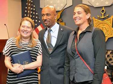 Lora Beldon & Donna Musil with Montel Williams!