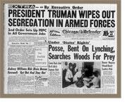 Truman Integrates Military